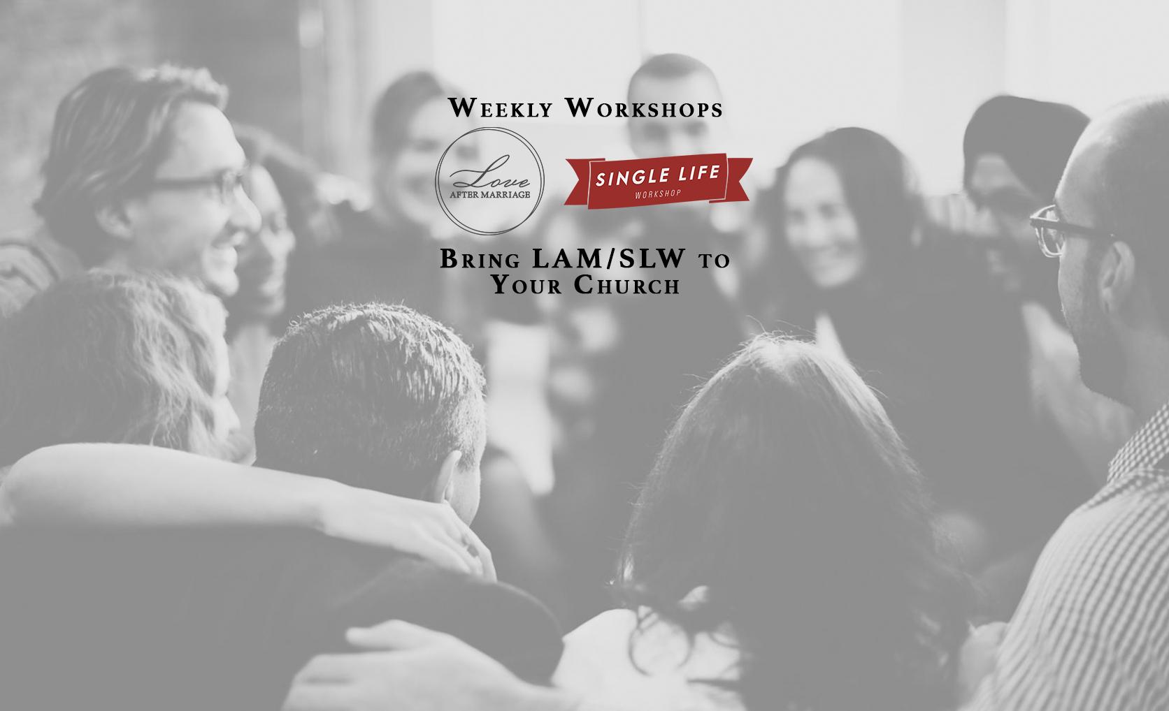 Homepage Weekly Workshops